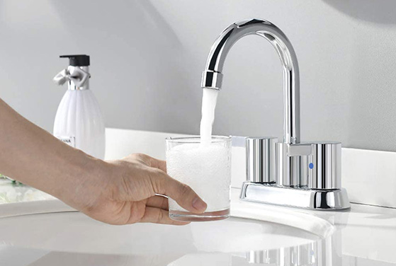 chrome faucets